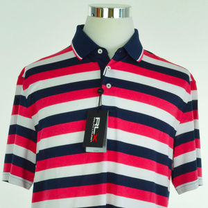 RLX GOLF Ralph Lauren Mens Polo Shirt L Multicolor
